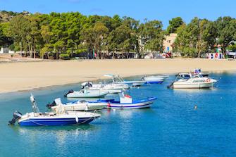 Scopello cefalu mondello nordwest nord sizilien ferien ferienhaus villen meer strand