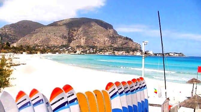 mondello palermo sizilien ferien information villa ferienhaus meer freiziet surf