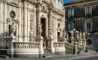arcireale information villa ferienhaus sizilien ferien ostküste architektur barock kirche