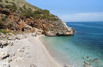 sizilien ferien information scopello ferienhaus villa meer strand einsame bucht cala craperia