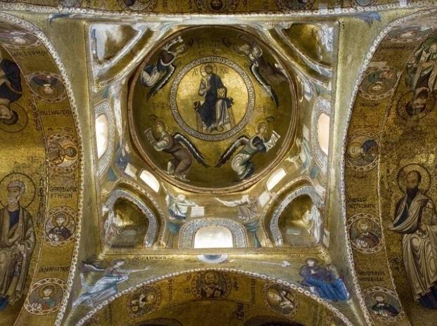 sizlien ferien guide kunst kultur palermo capella palatina mosaik sehenswürdigkeit