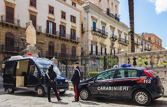 carabinieri informationen anreise wichtig palermo sizilien ferien