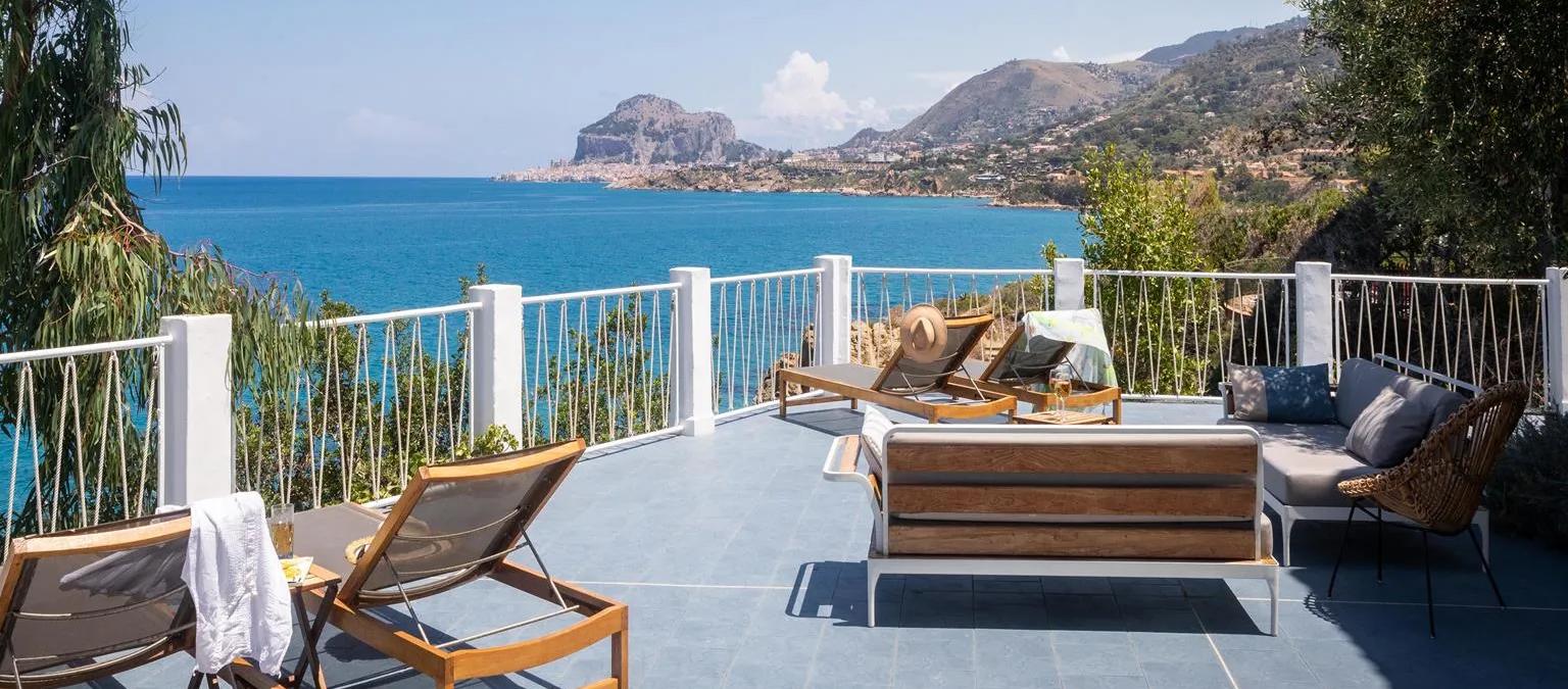 cefalu villa elaia unterkunft ferienwohnung ferienhaus sizlien guide sizilianische sädte