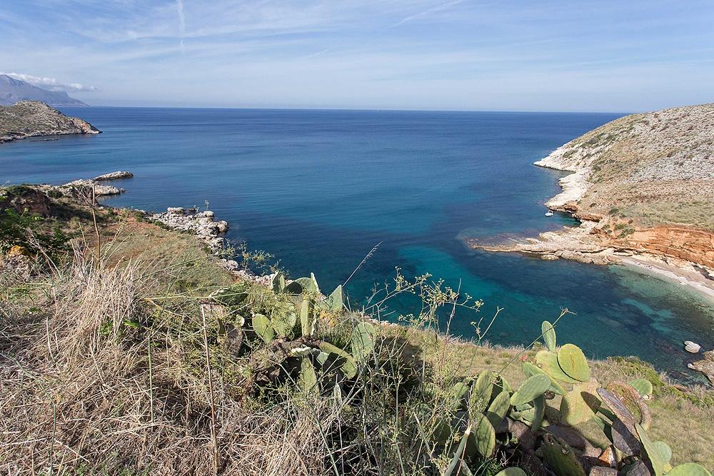 sizilien ferien information scopello ferienhaus villa meer strand einsame bucht panorama